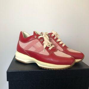 RARE Vintage Red Hogan Sneakers